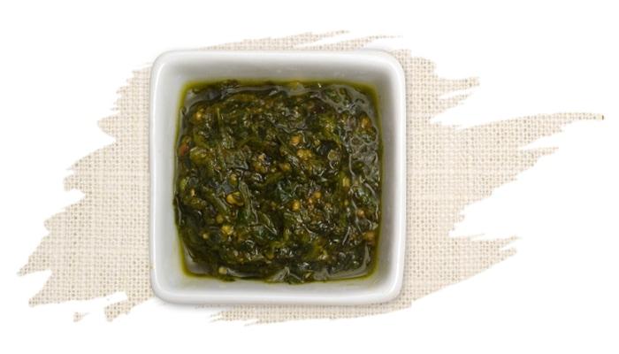 Mediterranean Basil Pesto